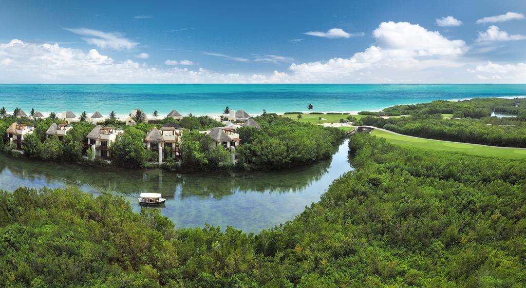 Complejo Fairmont Mayakoba, en la Riviera Maya