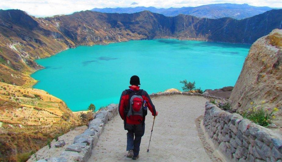 Laguna del Quilotoa, Ecuador