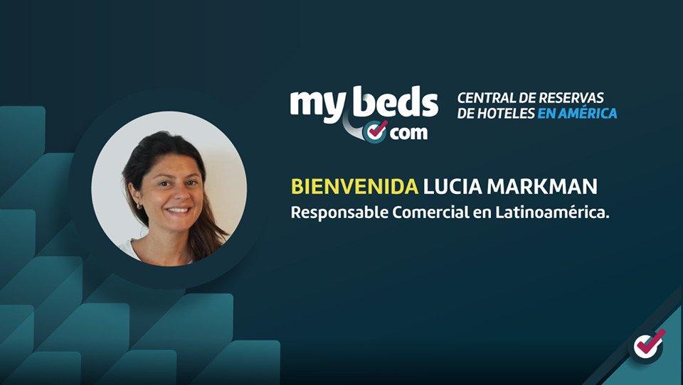 Lucía Markman asumió en Mybeds.com