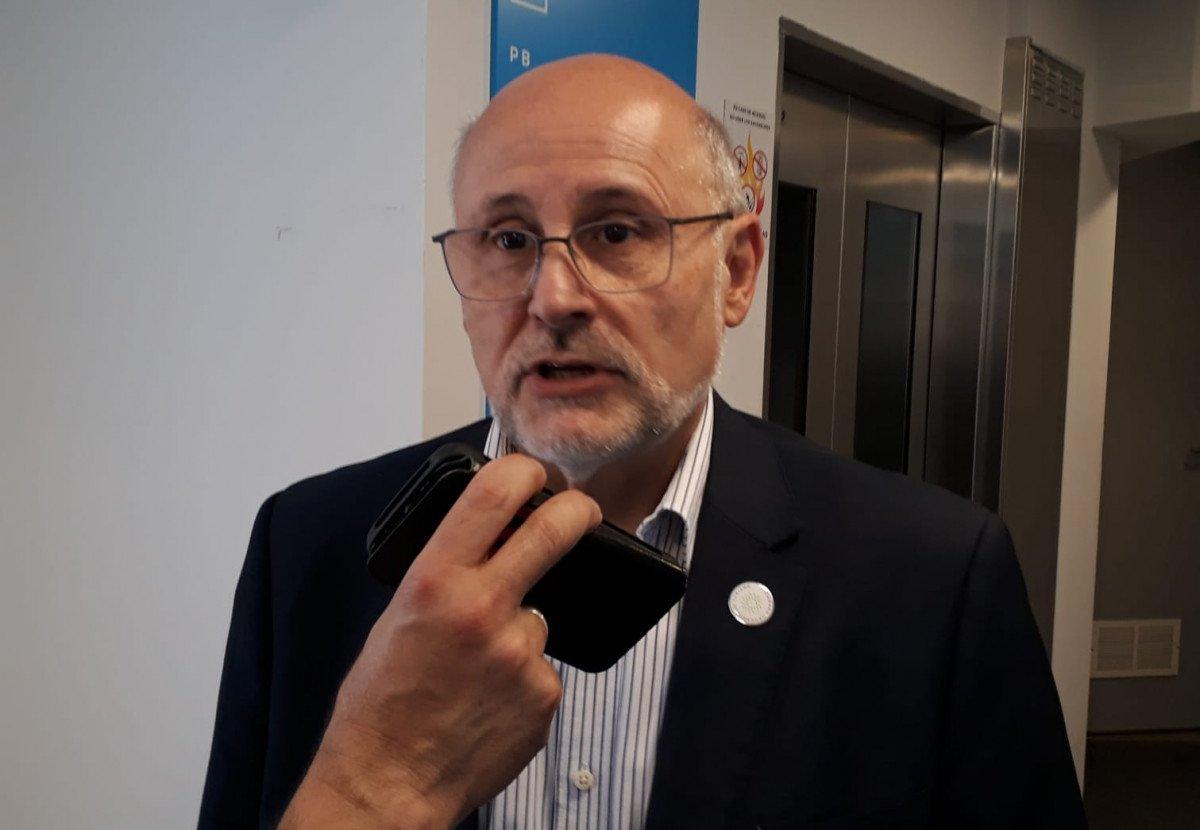 Juan Martínez, presidente de la Cámara Uruguaya de Turismo.