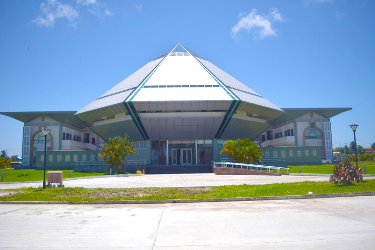 Centro de Convenciones Arthur Chung, en Georgetown