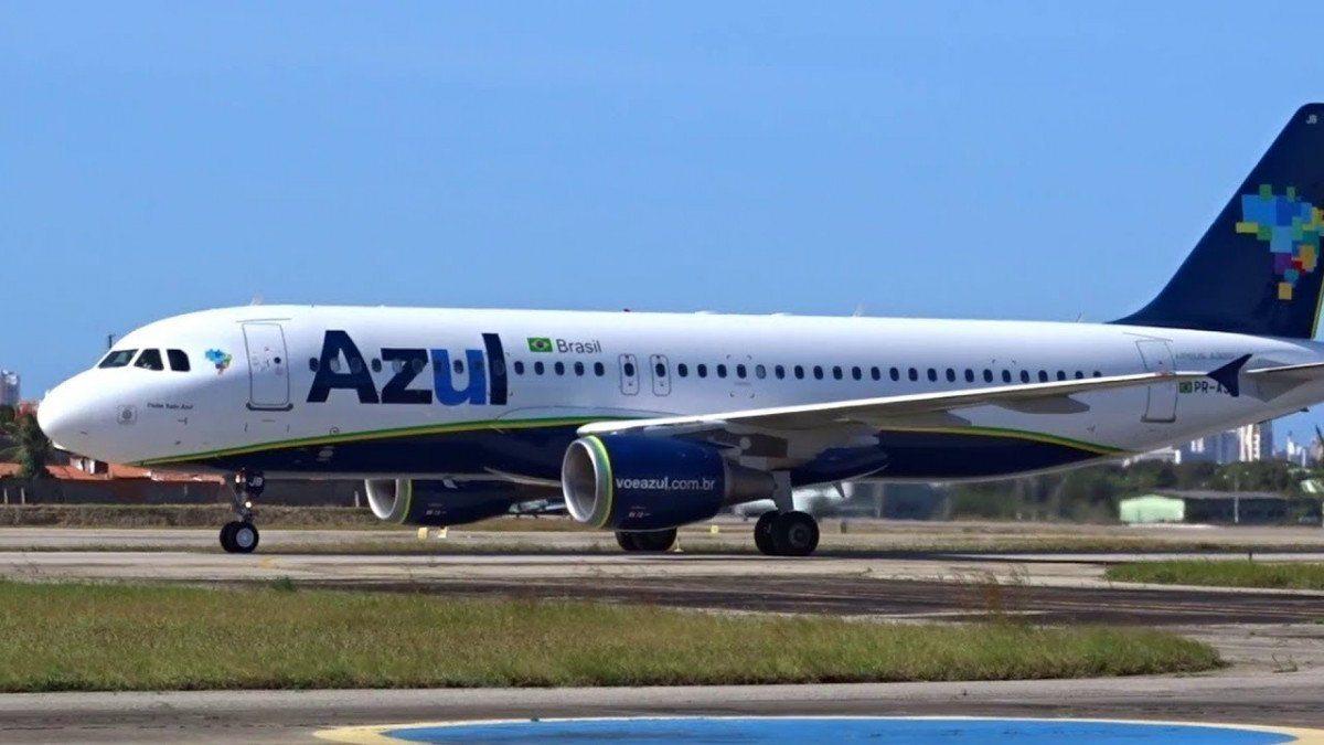 Airbus A320 Neo de Azul en el aeropuerto de Recife