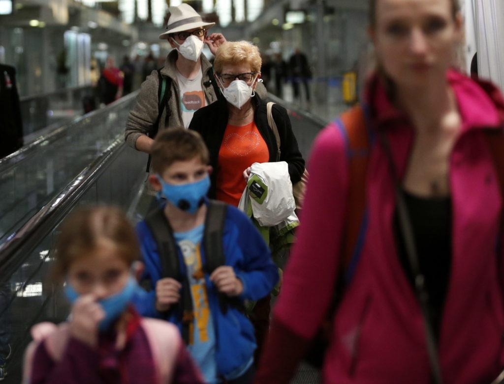 Evacuaciones por coronavirus. Foto: Efe