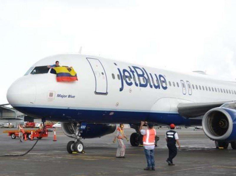 JetBlue renueva su apuesta por Colombia