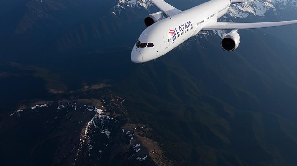 Boeing 787-8 de LATAM Airlines