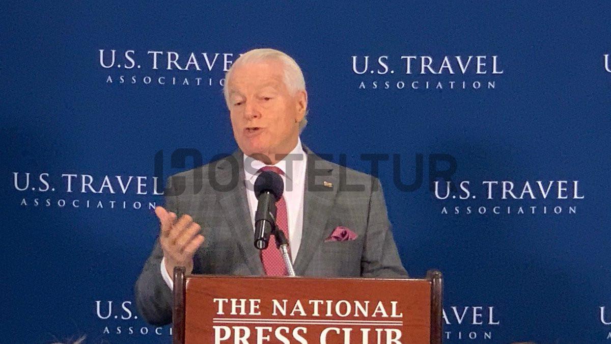 Roger Dow, presidente y CEO de US Travel. Foto: @JeffGuaracino