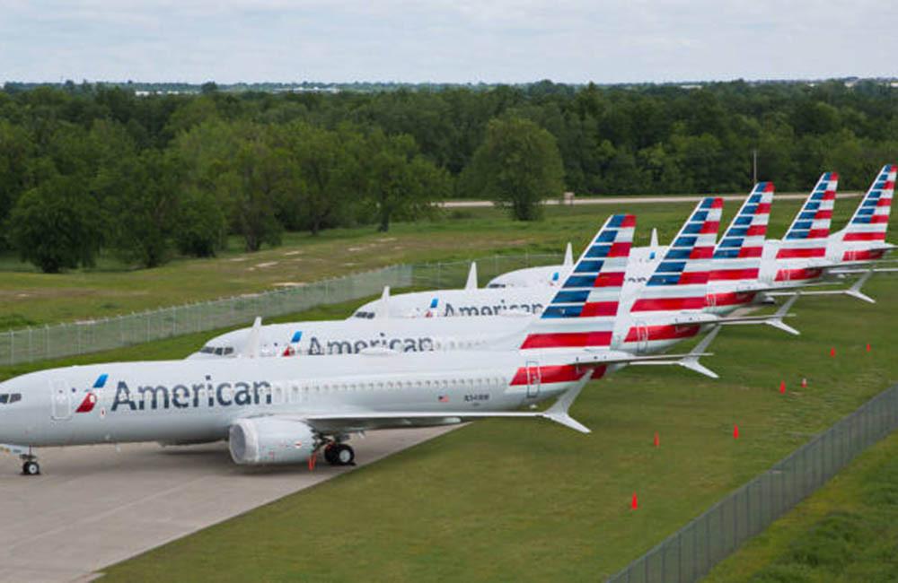 Aviones Boeing 737 MAX de American Airlines