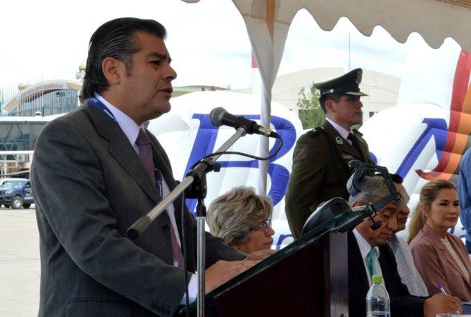 Gerente general de BoA, Juan Carlos Ossio