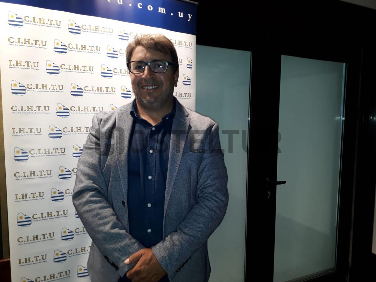 Alejandro D'Elía, gerente general del complejo Solanas y nuevo presidente de CIHTU