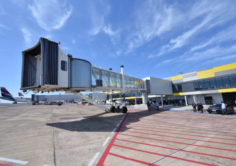 Ampliaciones duplicaron la capacidad del Aeropuerto Internacional de Foz de Iguazú