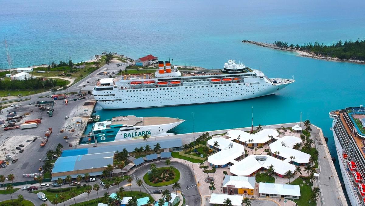 Freeport Harbor, en Grand Bahama.