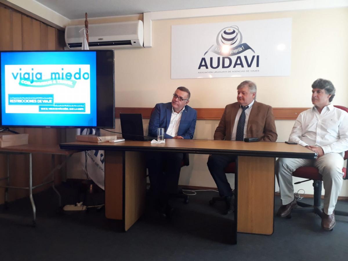Autoridades de AUDAVI derribaron mitos para renovar confianza de los viajeros.