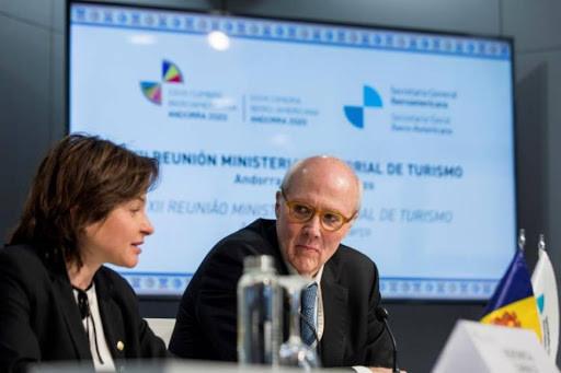 Autoridades de turismo reunidas en Andorra