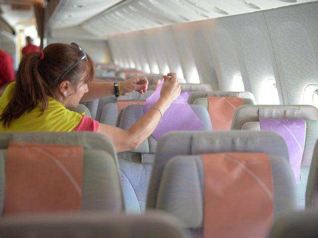 ¿Limpieza del asiento a cargo del pasajero? No está de más