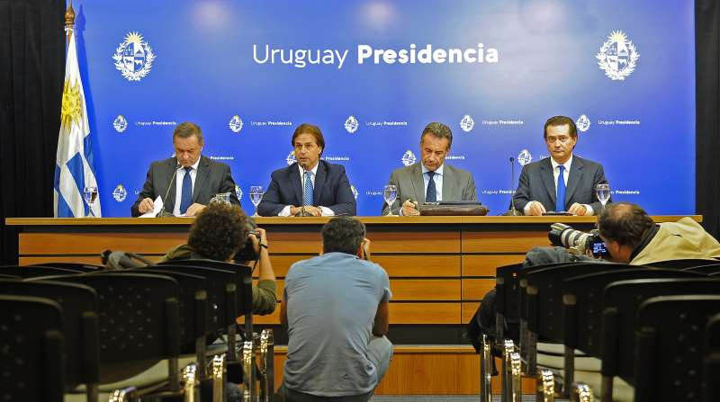 El gobierno uruguayo actualiza diariamente la información sobre el combate a la propagación de la epidemia.