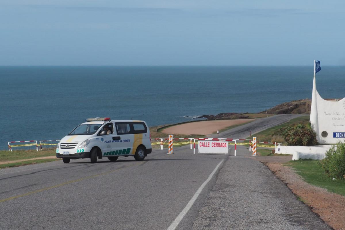 El Mirador de Punta Ballena fue cerrado para evitar aglomeraciones