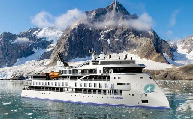 El Greg Mortimer es un barco pionero en su diseño y comodidades.