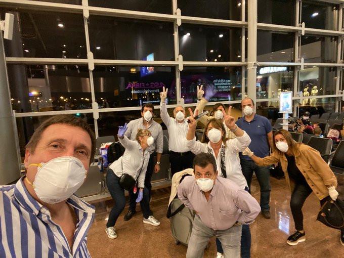 Uruguayos repatriados luego de varios días varados en el exterior