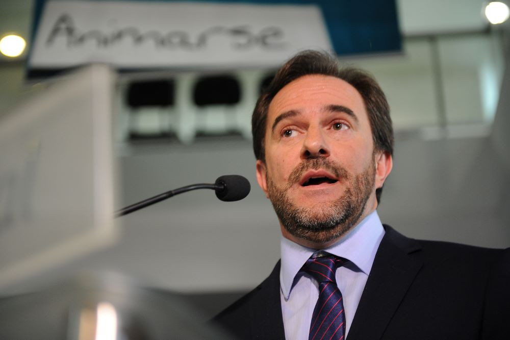 Ministro de Turismo de Uruguay, Germán Cardoso.