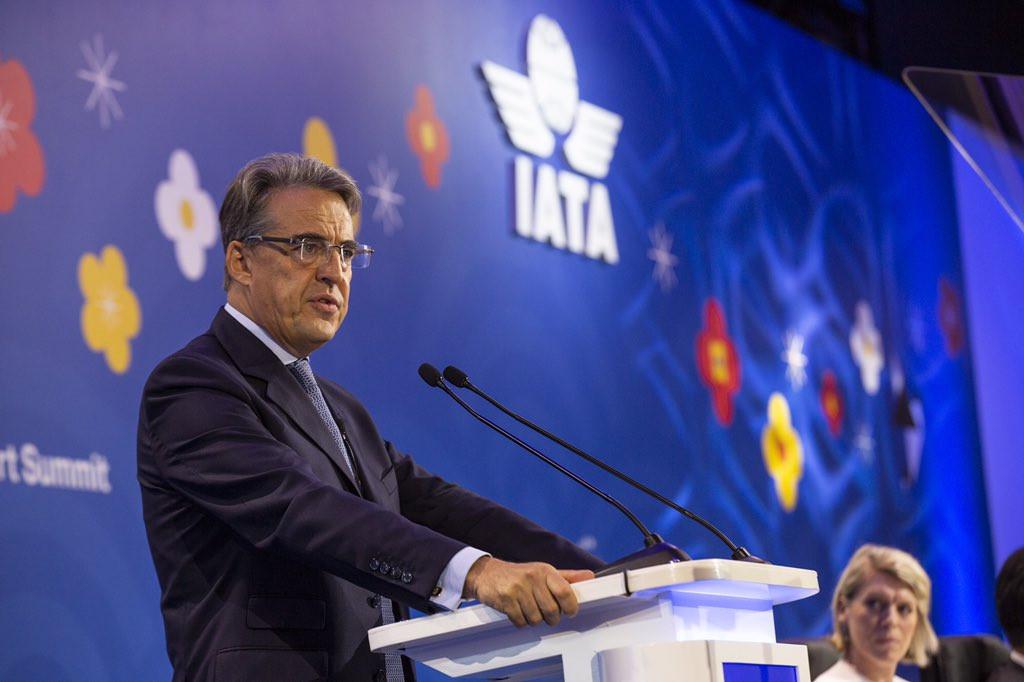 Alexandre de Juniac, director ejecutivo de IATA