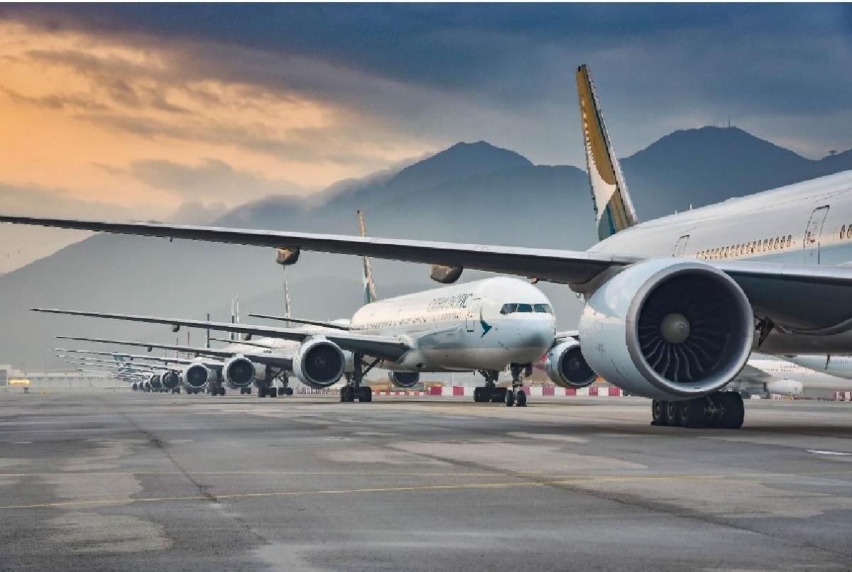 Los Aviones Aparcados En Aeropuertos Son Un Riesgo Para La Infraestructura Transportes