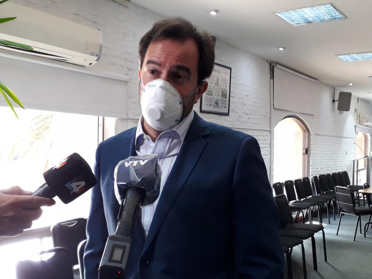 Germán Cardoso, ministro de Turismo de Uruguay.