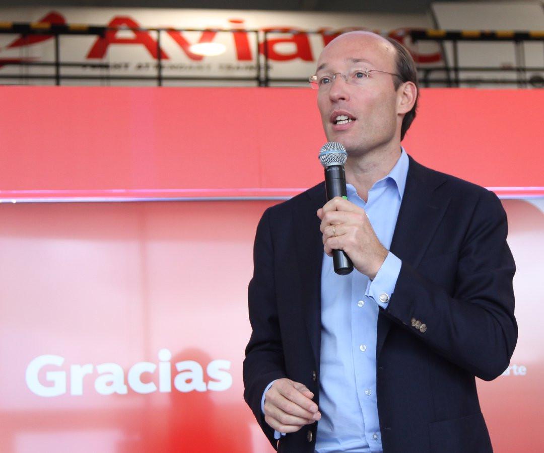 Anko van der Werff, CEO de Avianca