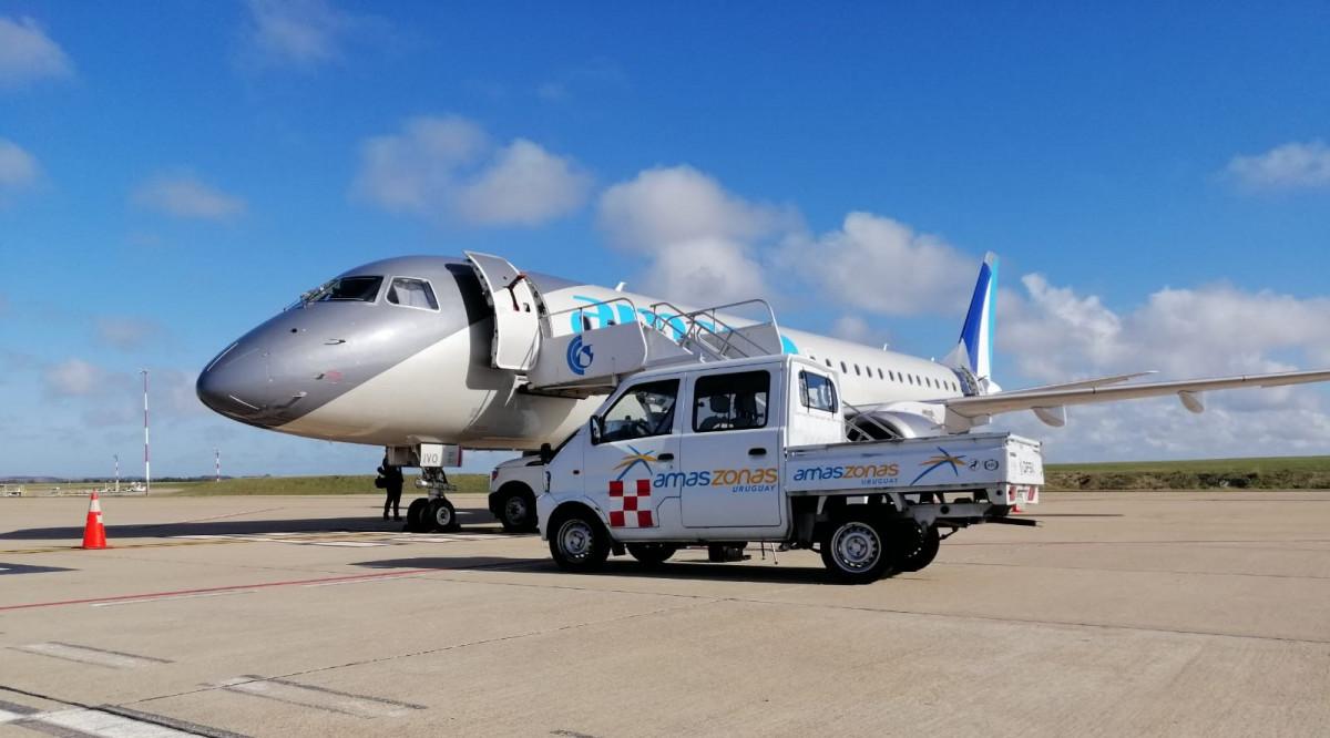 Amaszonas Uruguay mantiene planes para sumar un segundo Embraer 190