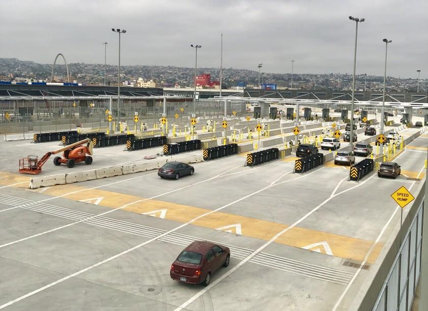Frontera entre EEUU y México en Tijuana. Foto: San Diego Union-Tibune