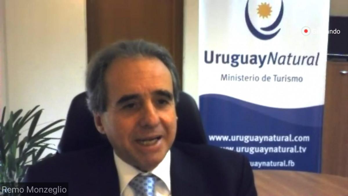 Remo Monzeglio, subsecretario del Ministerio de Turismo de Uruguay