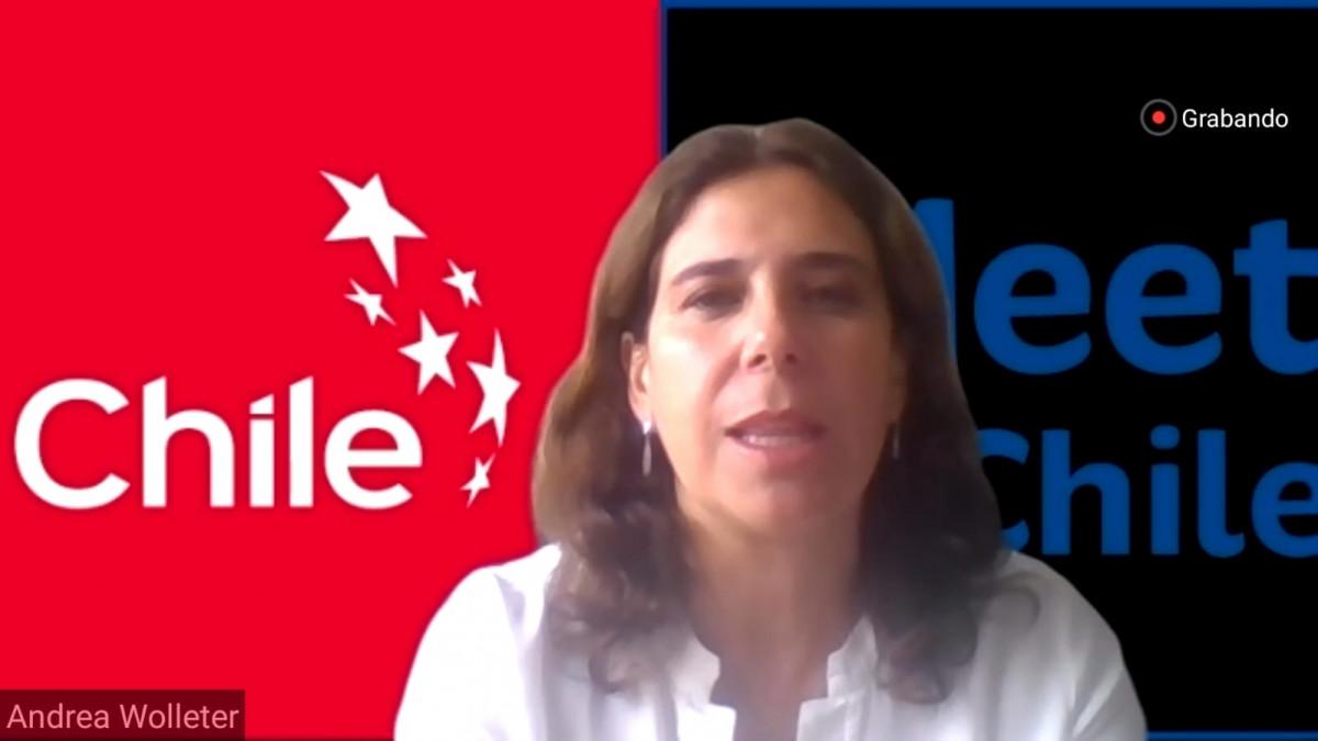 Andrea Wolleter, directora ejecutiva de SERNATUR de Chile