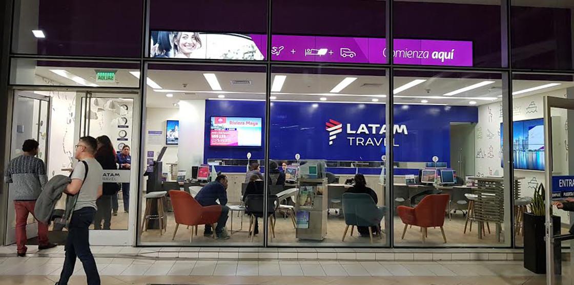 La red de agencias LATAM Travel es el brazo de ventas que estaba desarrollando la compañía