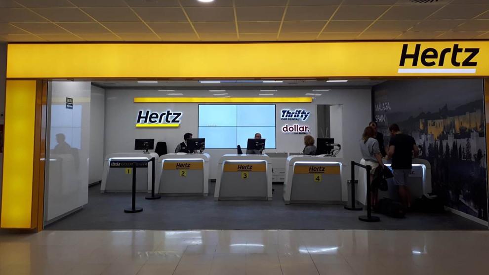 Hertz se declara en bancarrota en EEUU