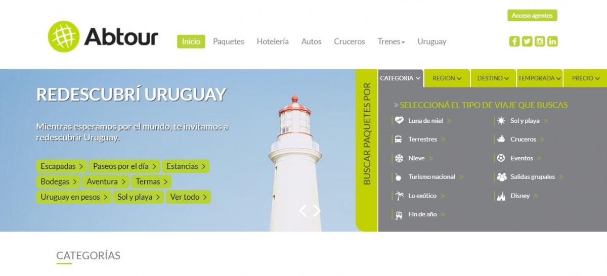 ABTour es una de las agencias grandes que va por la oferta nacional