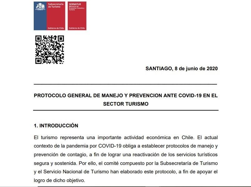 Protocolos oficiales que las empresas deberán cumplir fueron publicados en Chile