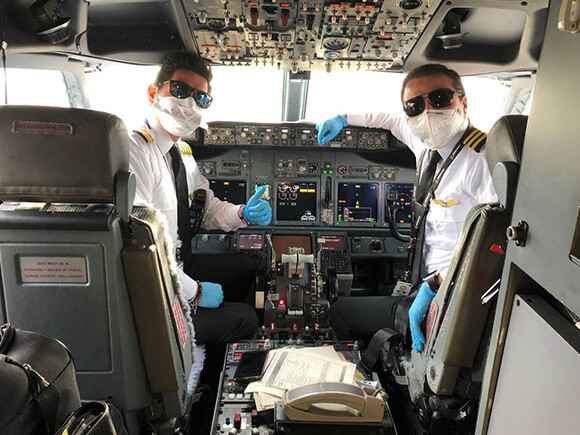 Copa ha realizado 70 vuelos humanitarios desde mediados de marzo