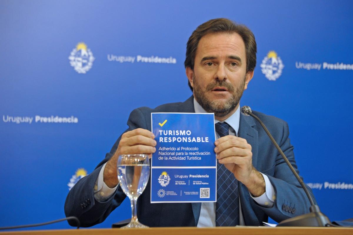 El ministro Germán Cardoso presentó los protocolos de Uruguay
