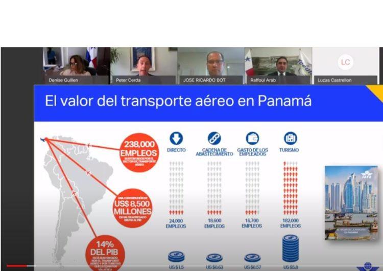 Webinar de IATA sobre Panamá