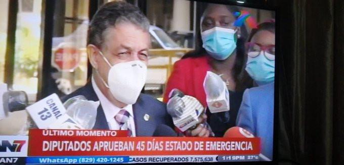 República Dominicana vuelve desde este martes 21 al estado de emergencia.