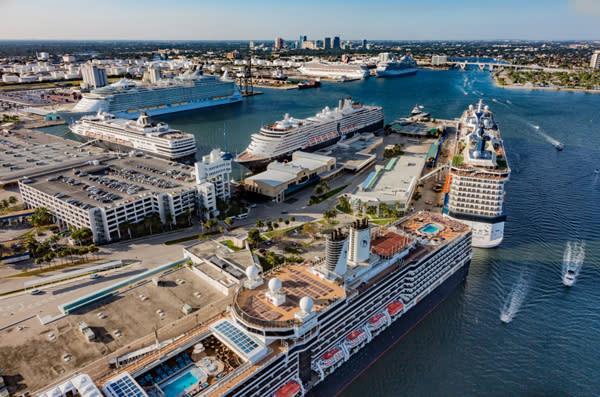 Port Everglades, el puerto de Fort Lauderdale (Florida)
