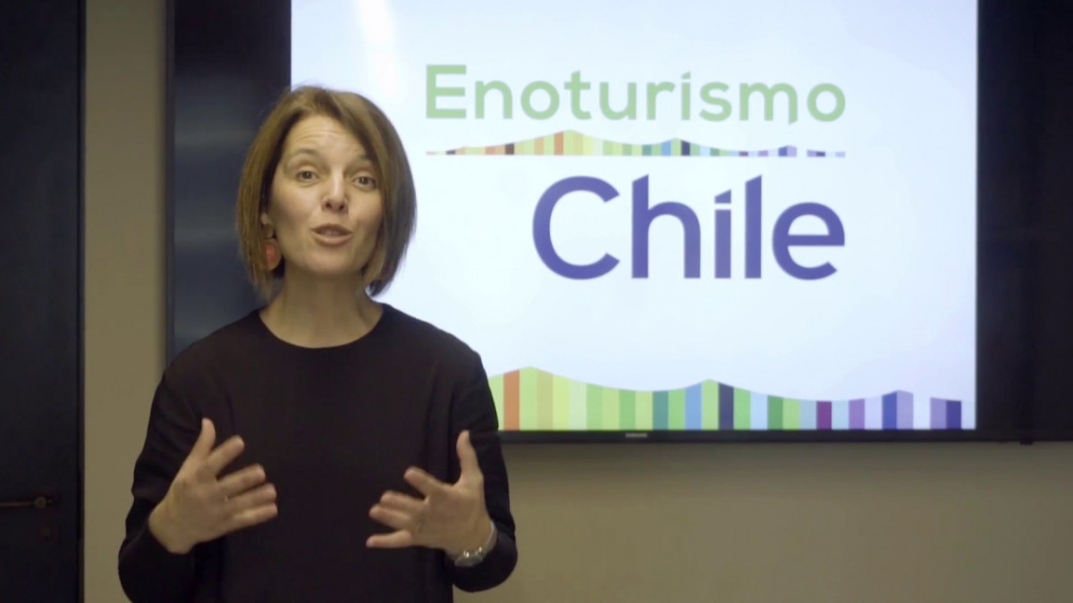 Alicia Ortiz, de Enoturismo Chile