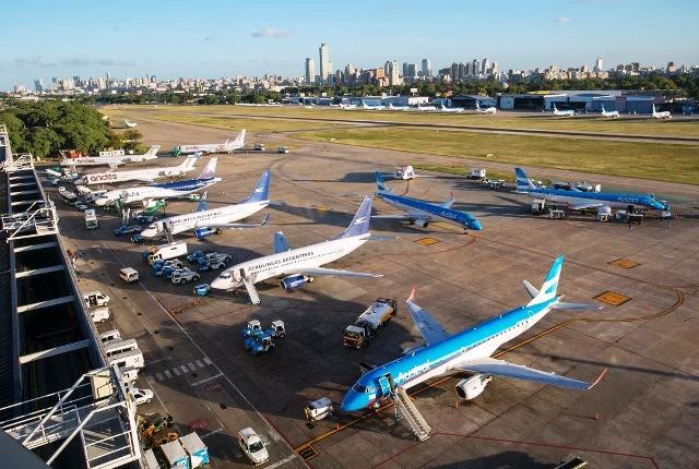 Aeroparque Jorge Newbery, en Buenos Aires