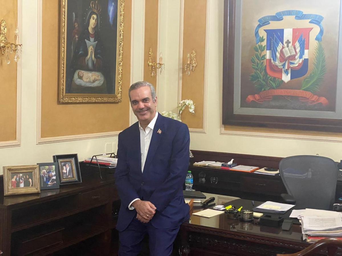 Luis Abinader, presidente de la República Dominicana.