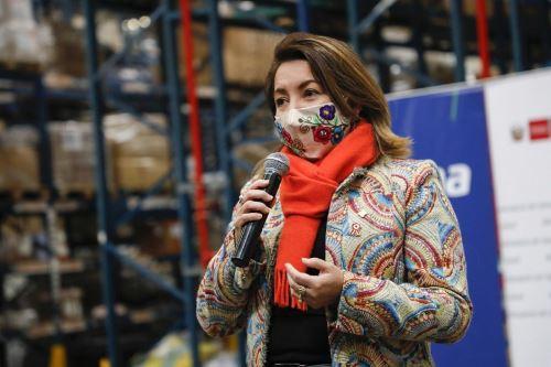 Rocío Barrios, ministra de Comercio Exterior y Turismo de Perú