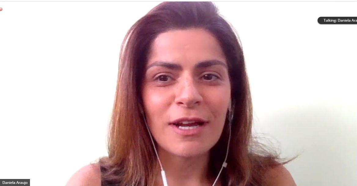 Daniela Araújo, directora de ventas internacional de GOL.