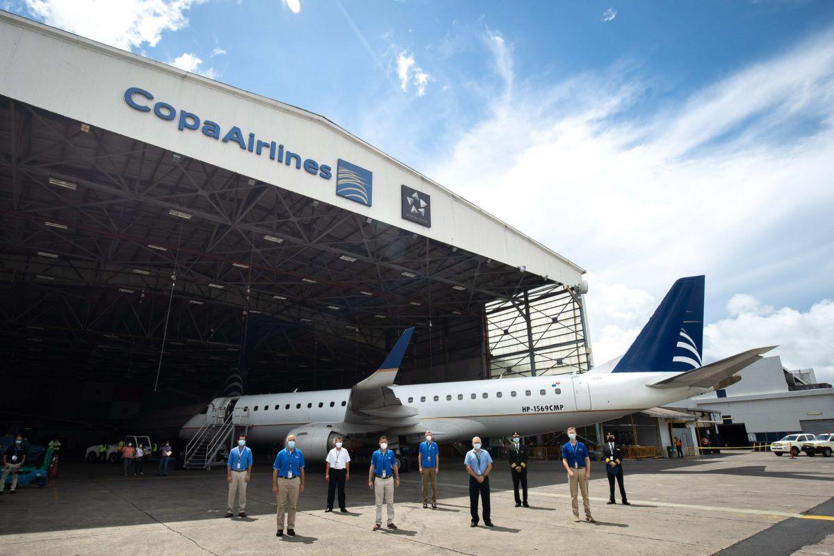 Copa despidió al primero de sus Embraer 190 que se marchó ya a Australia
