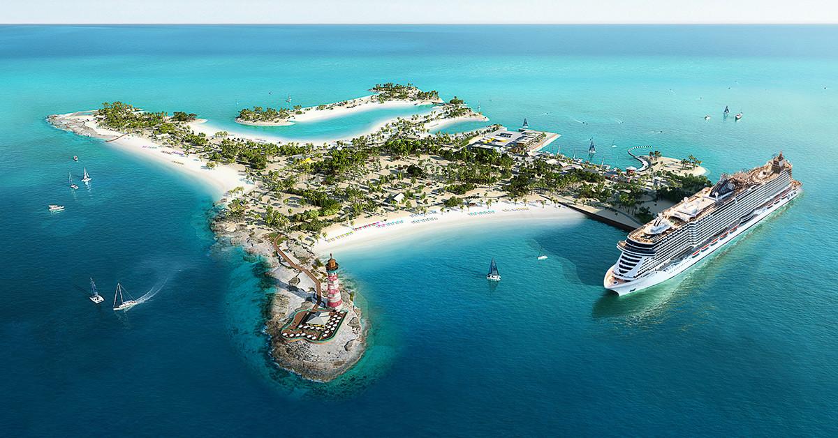 Ocean Cay, la isla privada de MSC en Bahamas