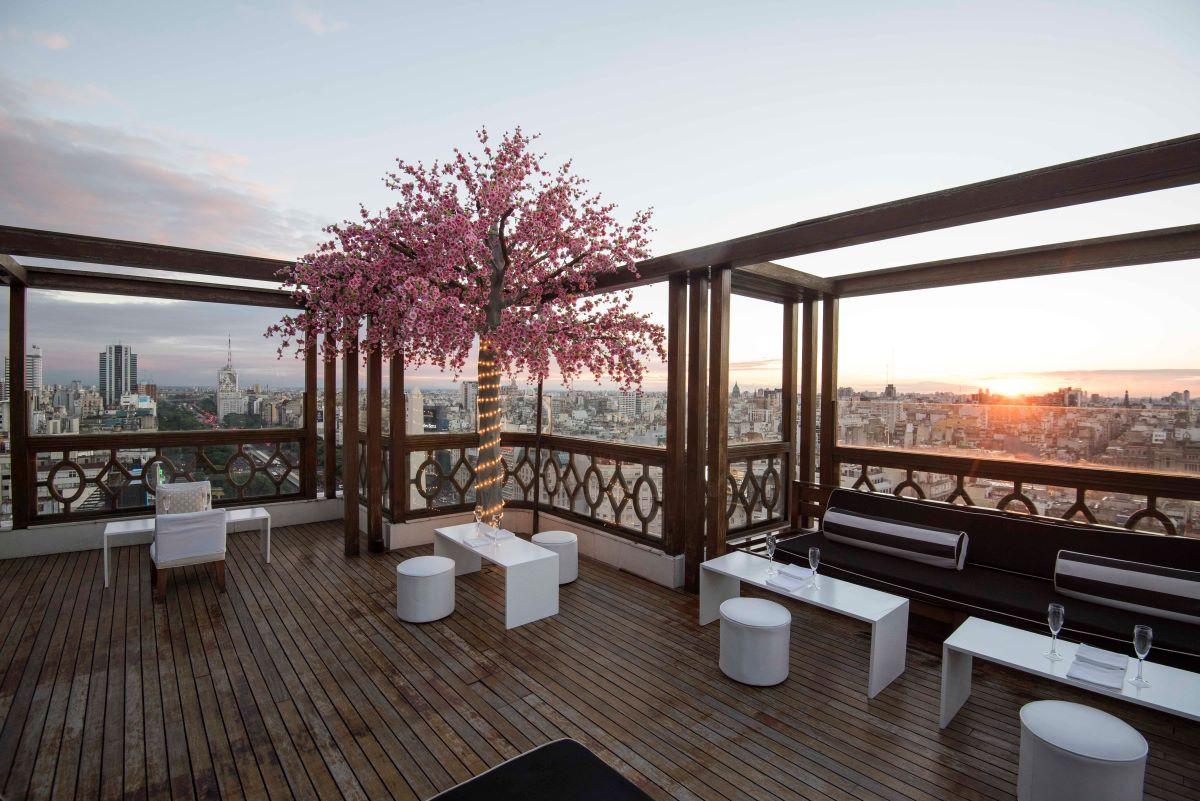Vista desde la terraza del Buenos Aires Marriott Hotel