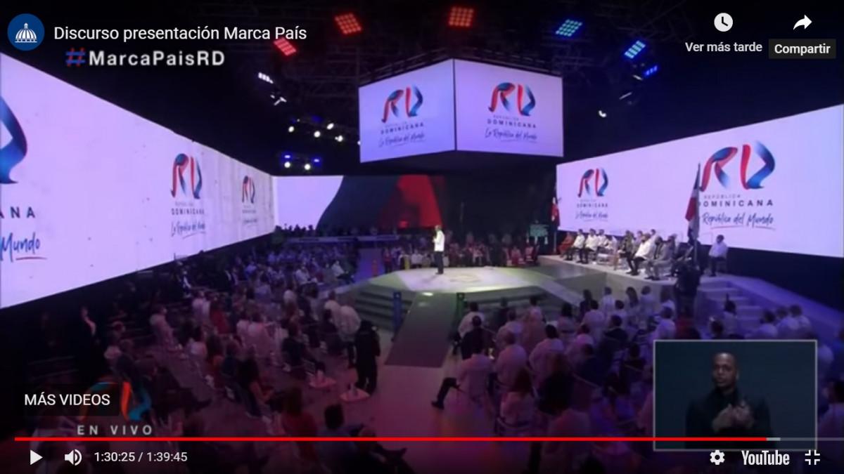 Lanzamiento de la marca país de República Dominicana