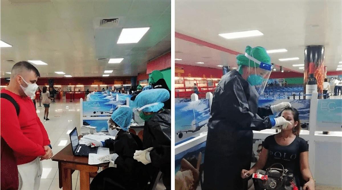 Cuba ensaya en el Aeropuerto de La Habana protocolos COVID con pruebas PCR  | Transportes